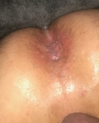 Cumdumped hole